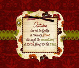 Autumn Quote Wallpaper - Quote About Fall Wallpaper Image Preview