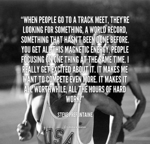 Track Quotes For Sprinters