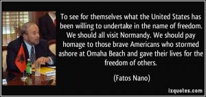 More Fatos Nano Quotes