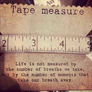 The True Test of Measure♥