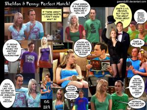 Sheldon Cooper sheldon and penny