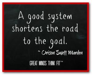 Goal Quote by Orison Swett Marden