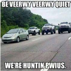 Prius hunt! More