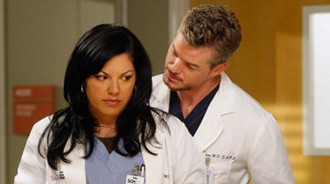 Callie Torres and Mark Sloan made some love in the on-call room. But ...