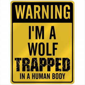 Alpha and Omega Wolf sign.
