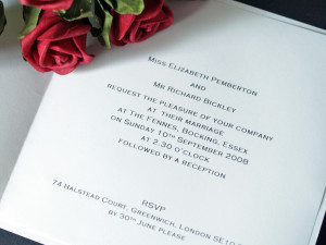 Wedding Invitation Quotes HD Wallpaper 3