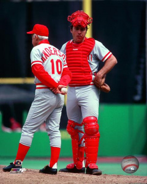 Johnny Bench Sparky Anderson