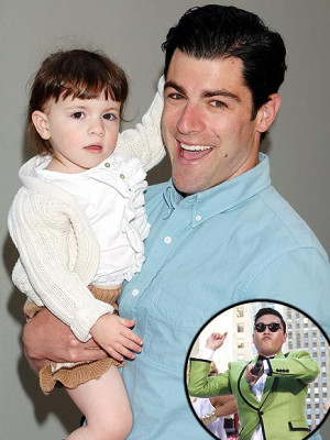 New Girl star Max Greenfield, revealing his daughter's favorite song ...
