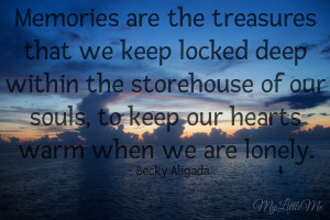 Photo Quote Friday – Quotes About Memories