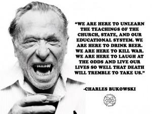 bukowski charles bukowski freethinkers atheist hells atheist quotes ...