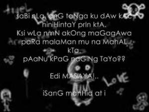 sad love tagalog quotes make you cry