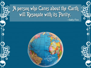 Caring Person Resonates With Earth's Beauty
