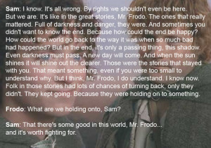 Lord of the Rings SAM Wisdom