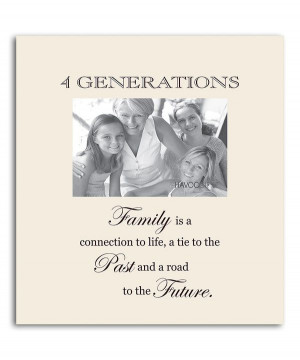 Another great find on #zulily! Oyster '4 Generations' Family Frame by ...