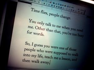 change, heartbroken, love, time, too busy