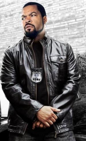 Ride Along Ice Cube Police Leather Jacket
