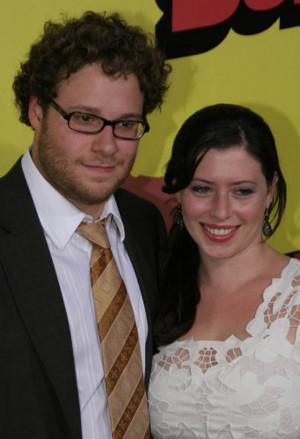 Seth Rogen and Lauren Miller Photo at the Superbad Premiere ...