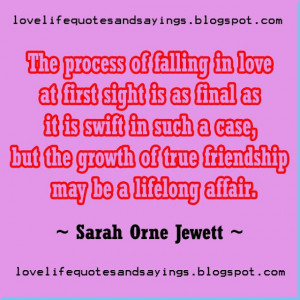 of falling in love at first sight is love quotes and sayings ...