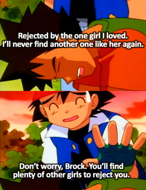 Brock Can't Handle Being Rejected By a Girl He Loved & Ash Ketchum ...