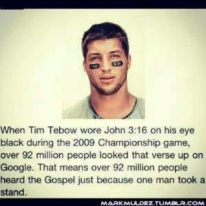 Tim tebow | Crushes