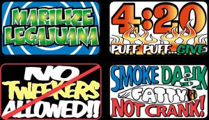 33198 - Marilize 420 Puff No Tweekers Smoke Dank