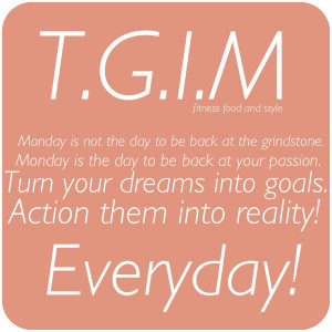 Monday Motivation – Plan Ahead and Never Give Up