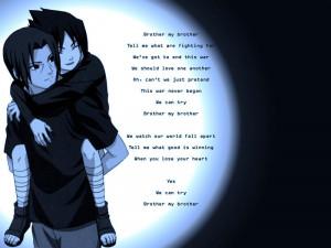 Sasuke's brother poem Image