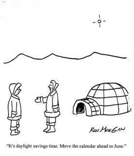 Daylight Savings Time funny cartoons pics