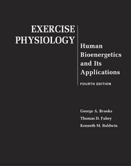 Sell Exercise Physiology Human Bioenergetics and Its Applications 4th