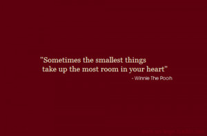 The Little Things Love Quotes