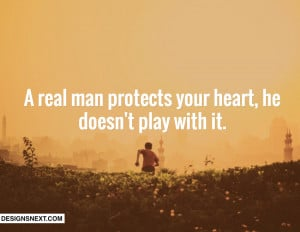 Real Man Picture Quotes & Sayings