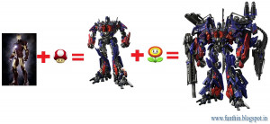 funny transformers