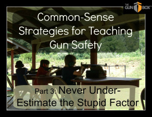 ... for Teaching Gun Safety: Never Underestimate the Stupid Factor
