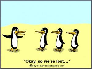 funny penguin and polar bear