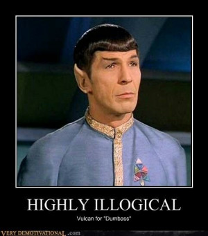 Star Trek Spock meme - Why just insult someone, when you can insult ...