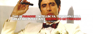 ... Tony Montana Scarface Quote How About That Tony Montana Scarface Quote