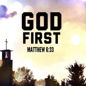 Put God First AlwAYS