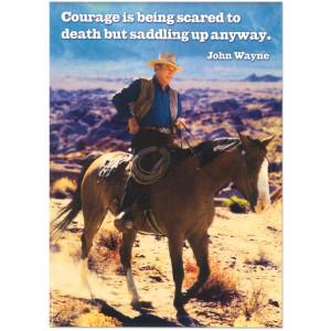 John Wayne Quotes Courage John wayne