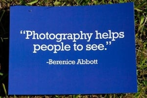 photography helps people to see berenice abbott # quotes # photography
