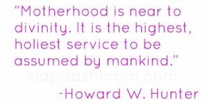 Inspirational Motherhood Quotes