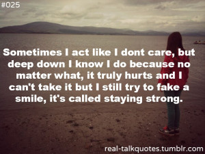 Real Talk Quotes About Life