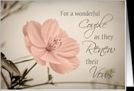 Vow Renewal Congratulations Cards