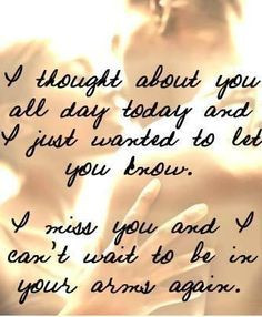 Military Spouse | missing you quotes for him | telling him/her how ...