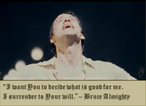 After experiencing divine power, even 'Bruce Almighty' had to submit ...