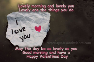 Romantic Good Morning Quotes For