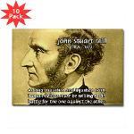 Utilitarianism John Mill Rectangle Magnet (10 pack