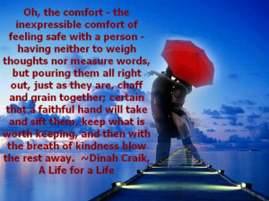 Oh The Comfort | Sweet Valentine Day Picture Quotes
