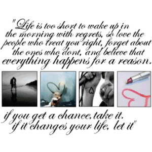 Life Quotes, Life Quote Graphics, Live Life Sayings