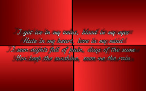 Drop The World - Lil' Wayne Song Lyric Quote in Text Image
