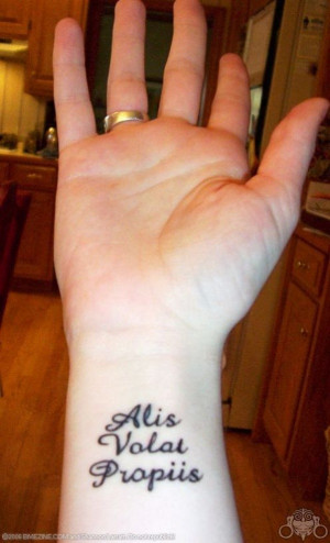 Latin Quote Tattoo Ideas